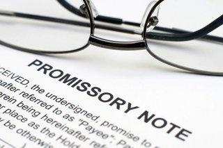 Promissory Note self directed IRA