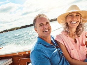self-directed ira roth made easy couple on boat - blog