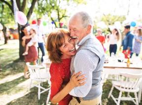 Happy Senior Couple Dancing - BLOG